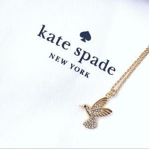 ♠️Kate Spade Grandma's Closet Hummingbird Necklace